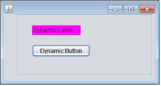 Dynamic add control with change name in java