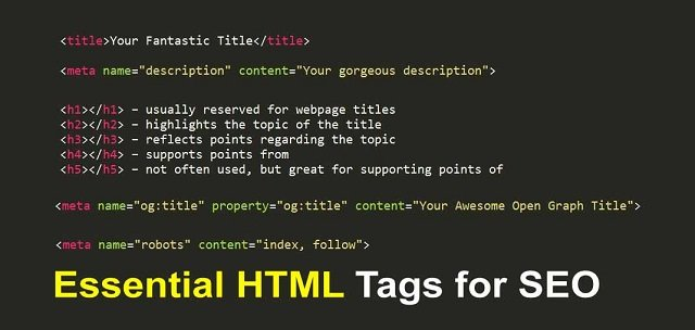 5 Essential HTML Tags for SEO Every Marketer Should Know