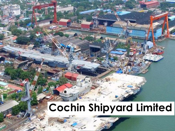 Cochin Shipyard Limited Jobs Recruitment 2020 - Outfit Assistant 357 Posts