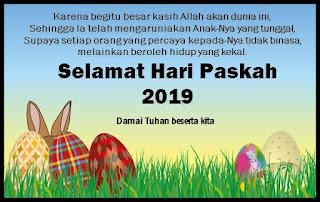 Ucapan Paskah terbaru 2019