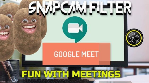 كيفية, استخدام, إضافة, Filters ,for ,Google ,Meet, في, متصفح, كروم