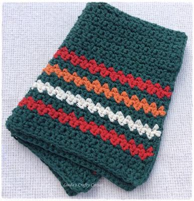 Lindas Crafty Corner Crochet Kitchen Toweldishcloth Pattern