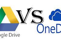 Google Drive vs OneDrive mana yang terbaik?