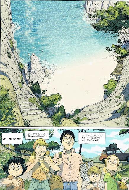 Les beaux étés tome 2 la calaque Page 30 editions Dargaud