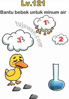 Bantu Bebek Untuk Minum Air Jawaban Brain Out