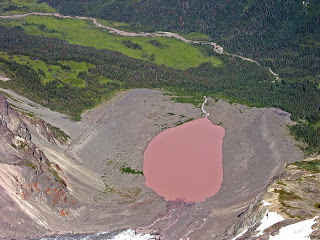 danau dusty rose, kanada