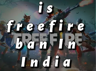 Is ff ban in India