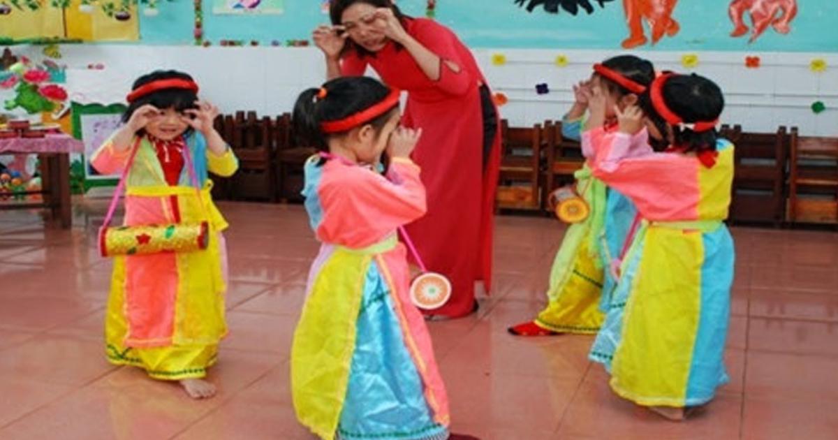 chất lượng giáo dục âm nhạc cho trẻ ở trường mầm non