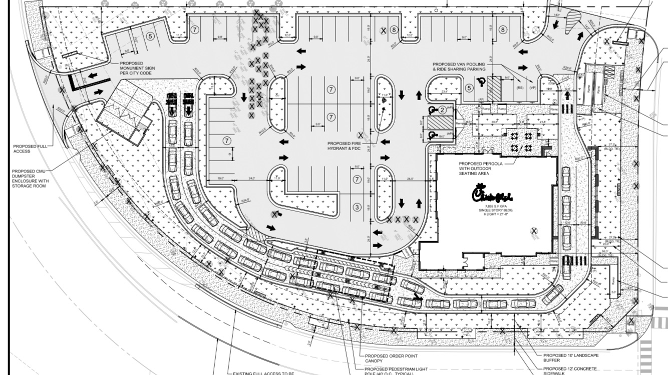 Tomorrow S News Today Atlanta Exclusive Chick Fil A Planning Huge New Restaurant In Alpharetta