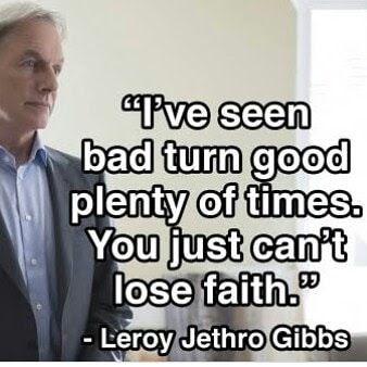 Leroy Jethro Gibbs inspiring quotes