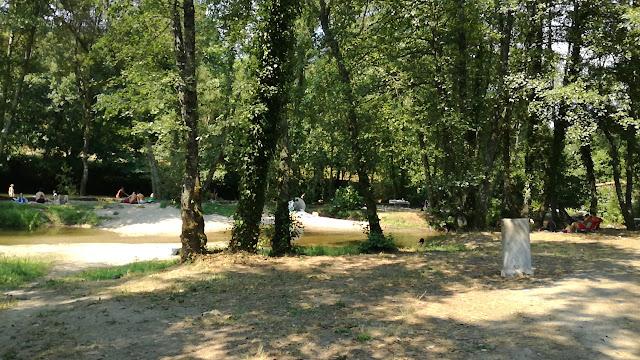 Areal do Parque Fluvial de Felinhos