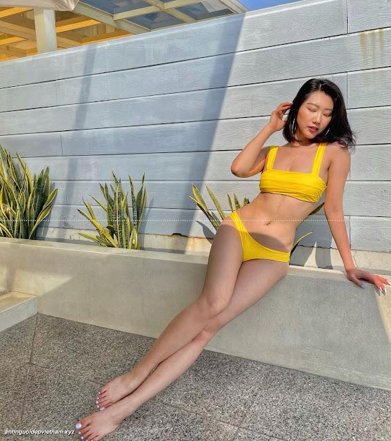 Ngắm ảnh diễn viên Thúy Ngân mặc bikini cực sexy 1