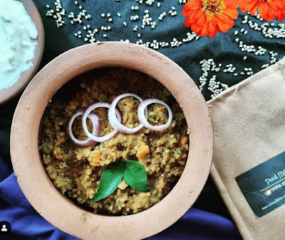 For this recipe I used Pearl Millets (Bajra). Bajra is a gluten-free grain that is rich in antioxidants, soluble fibres and protein. Bajra brings warmth to the body and is excellent to be consumed in winters
