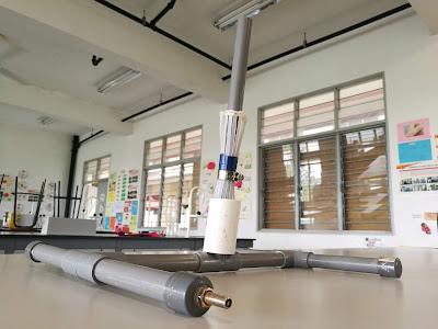 Nih lah model Rocket Launcher yang kami nak buat tu