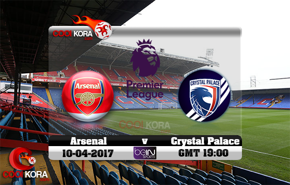 مشاهدة مباراة كريستال بالاس وآرسنال اليوم 10-4-2017 في الدوري الإنجليزي