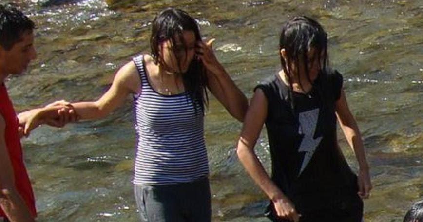 Indian Girl Bathing Hidden