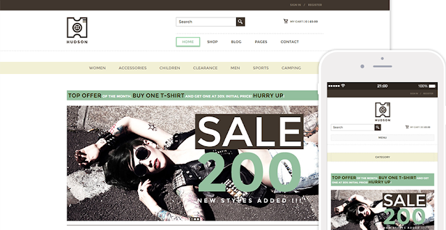Hudson Wordpress WooCommerce Themes