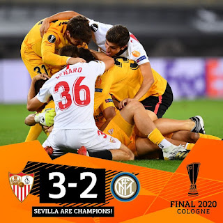 Sevilla Juara Piala Europa 2019/2020