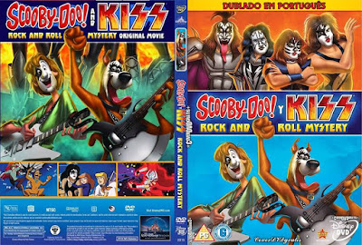 Scooby-Doo e Kiss em Mistérios do Rock n Roll