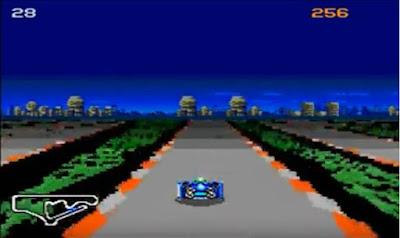 G-Zero demo modo 7 para Mega Drive