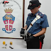 Bisceglie (BT). Arrestato un 28enne che alla vista dei Carabinieri tenta di dileguarsi. In casa aveva una pistola con matricola abrasa pronta a fare fuoco e della droga