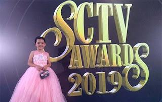 Anantya Rezky Kirana di SCTV AWARDS