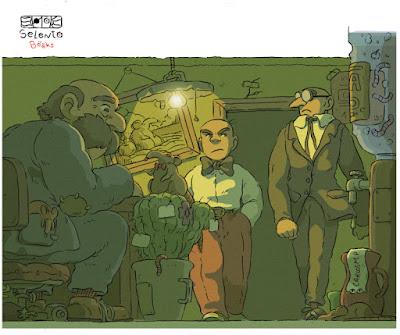 FANART BY SELENTO BOOKS: Mortadelo y Filemón (Francisco Ibañez) Marzo 2020