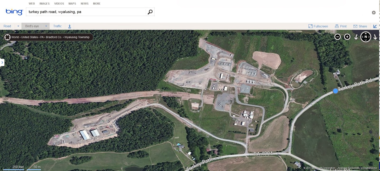 Nearest Natural Gas Station