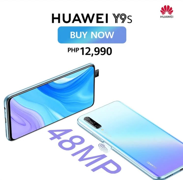 Huawei Y9s Now More Affordable For Only Php12,990