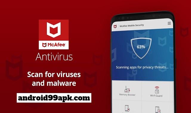 تطبيق McAfee Mobile Security اقوي تطبيق لحماية هاتف من الفيروسات (بحجم 41 MB) للأندرويد