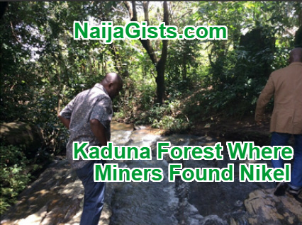 german miners found nickel kaduna forest
