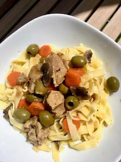 image Sauté de veau aux olives