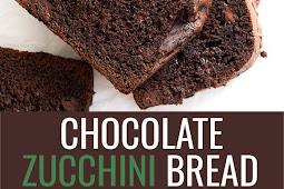 Double Chocolate Gluten Free Zucchini Bread