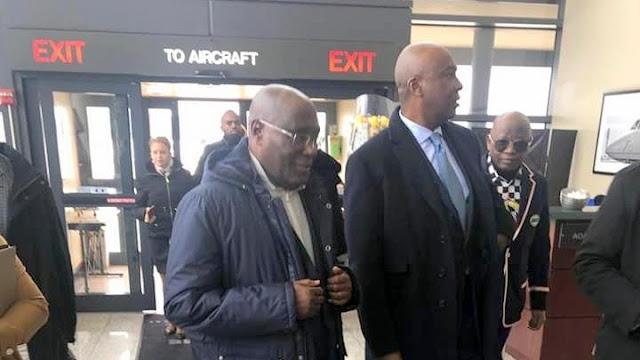 Nigeria Presidential Debate: Atiku Back to Nigeria from U.S. trip