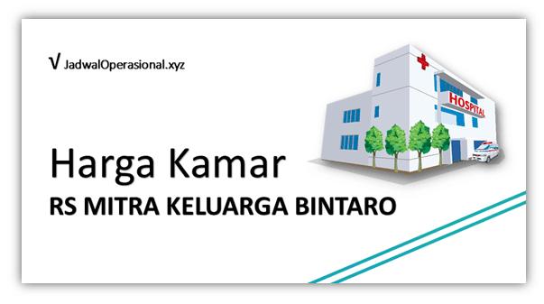 Harga Kamar RS Mitra Keluarga Bintaro
