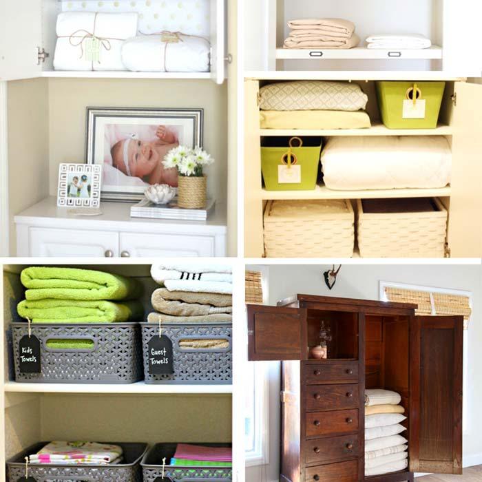 Linen Closet Organizing Essentials
