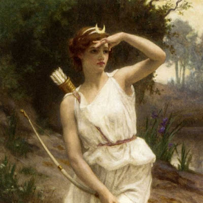Artemide, dea della caccia, della Luna e dell'iniziazione femminile