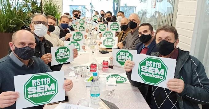 Frente parlamentar contra o pedágio na RS-118 é formada em Cachoeirinha