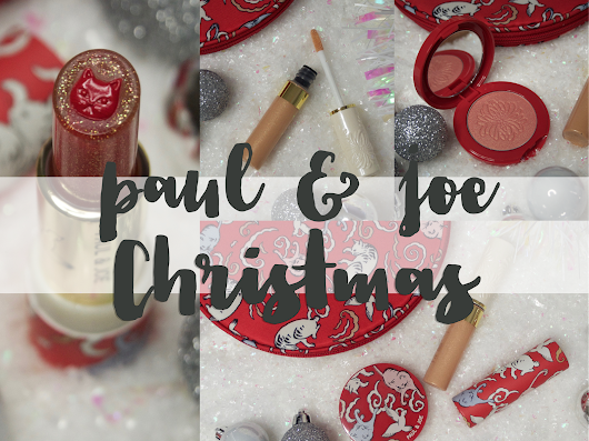 Paul & Joe's Cat Makeup Collection for Christmas 2017