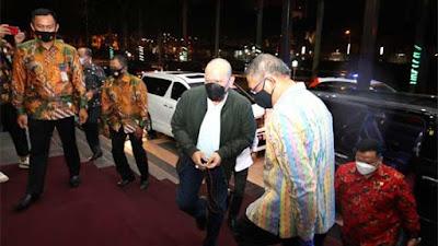 Foto Ketua DPD RI Dijamu Makan Malam Gubernur Kalimantan Barat