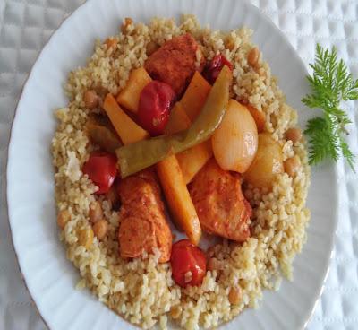 sebzeli tavuk yemekleri