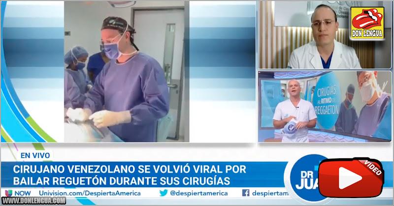 Médico venezolano baila al estilo Lacava durante las cirugías
