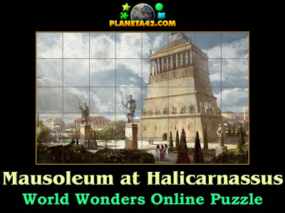 Mausoleum at Halicarnassus Puzzle