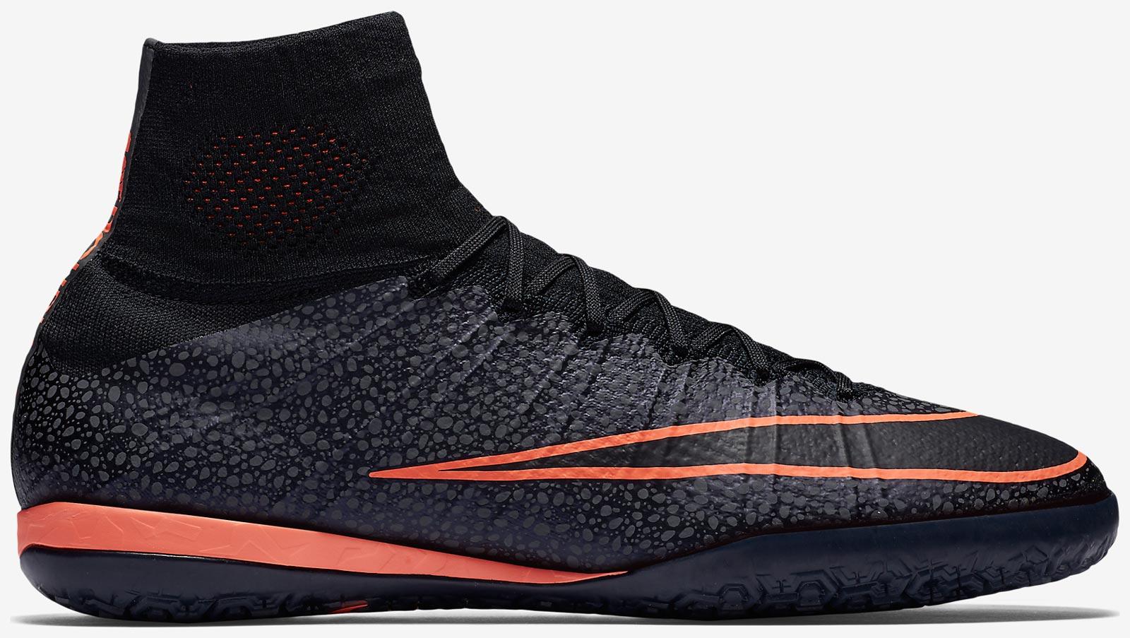 Pink Nike Mercurial Indoor Soccer Shoes