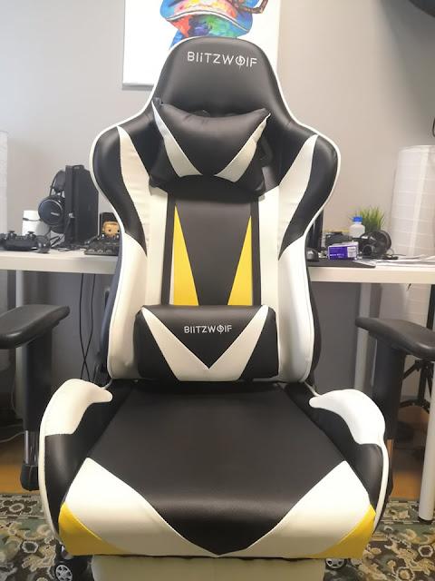 Cadeira Gaming BlitzWolf® BW-GC2 a grande preço!