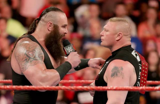 Brock Lesnar Vs Braun Strowman Live