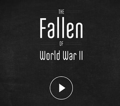 Figura 4: Ejemplo de Data Story sobre los Caídos de la II Guerra Mundial