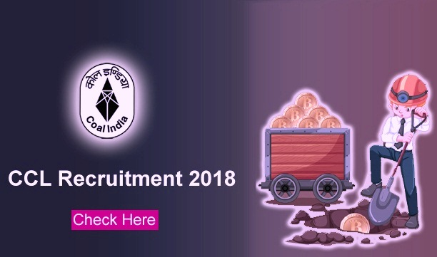 ccl recruitment notification 2018-19