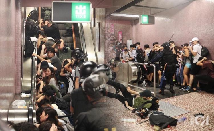 5 Orang dalam Kondisi Serius Setelah Bentrokan Antara Polisi dengan Pengunjuk Rasa kemarin Malam