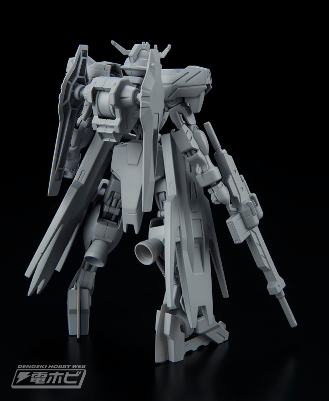 1/100 Full Mechanics Gundam Vidar Sample Images by Dengeki Hobby